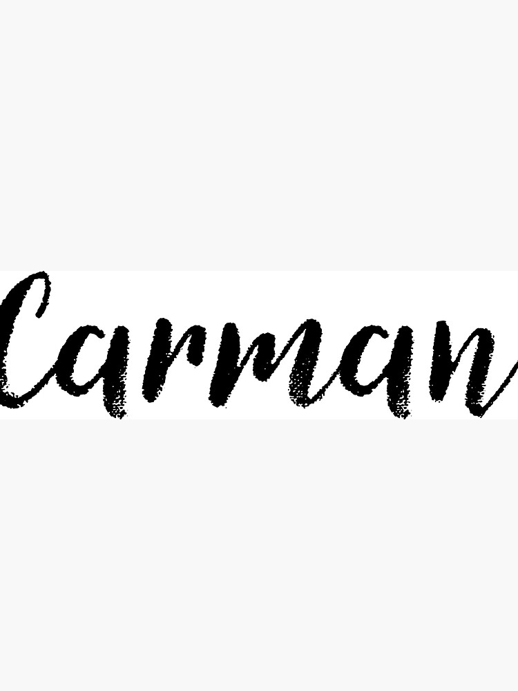 Carman - Custom Wife Daughter Girl Stickers Shirts by stamaigra