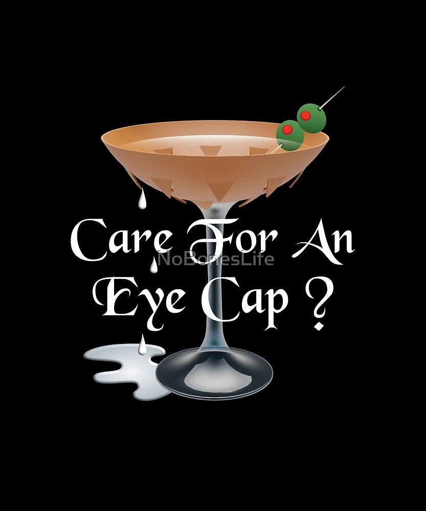 Care For An Eye Cap Funny Embalmer Gifts by NoBonesLife