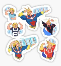 d139d53146723 ALL MIGHT PLUS ULTRA!!! Stickers Set Sticker
