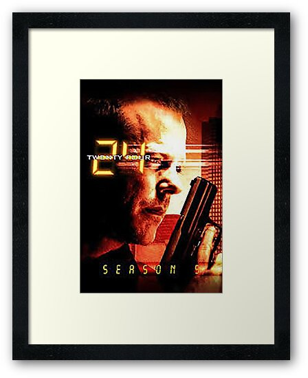 jack bauer 24 hours by serbandeira