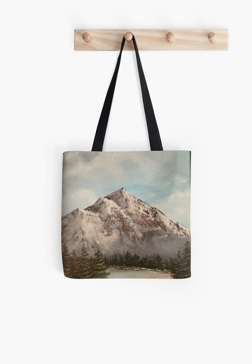 Mountain Glory by AcrylicsbyJen