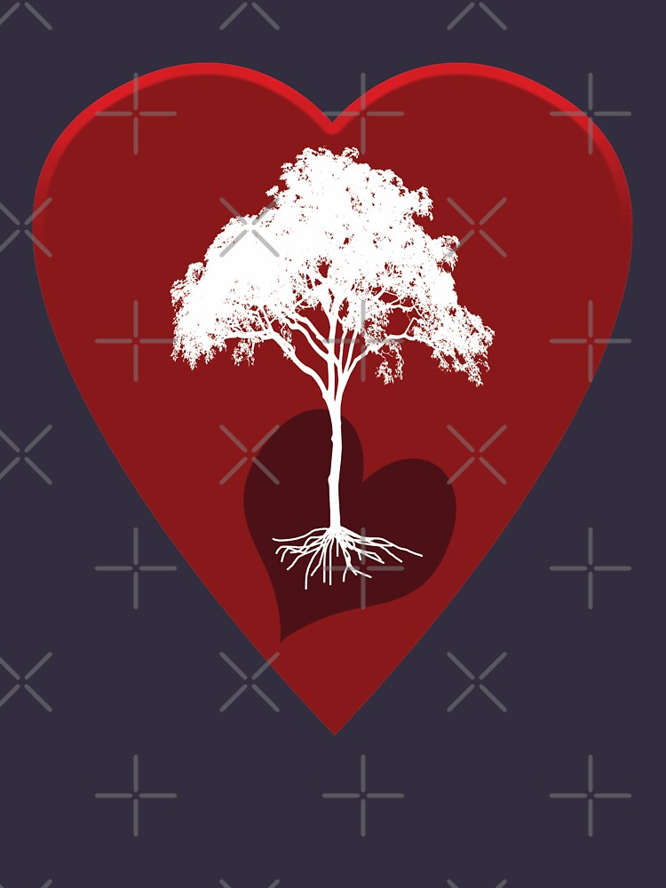 Hearts and Tree by mRudolphus
