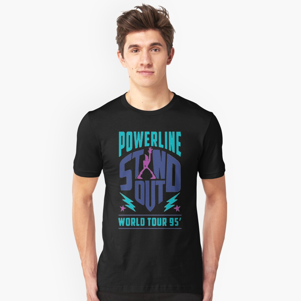 PowerLine Merch Unisex T-Shirt Front