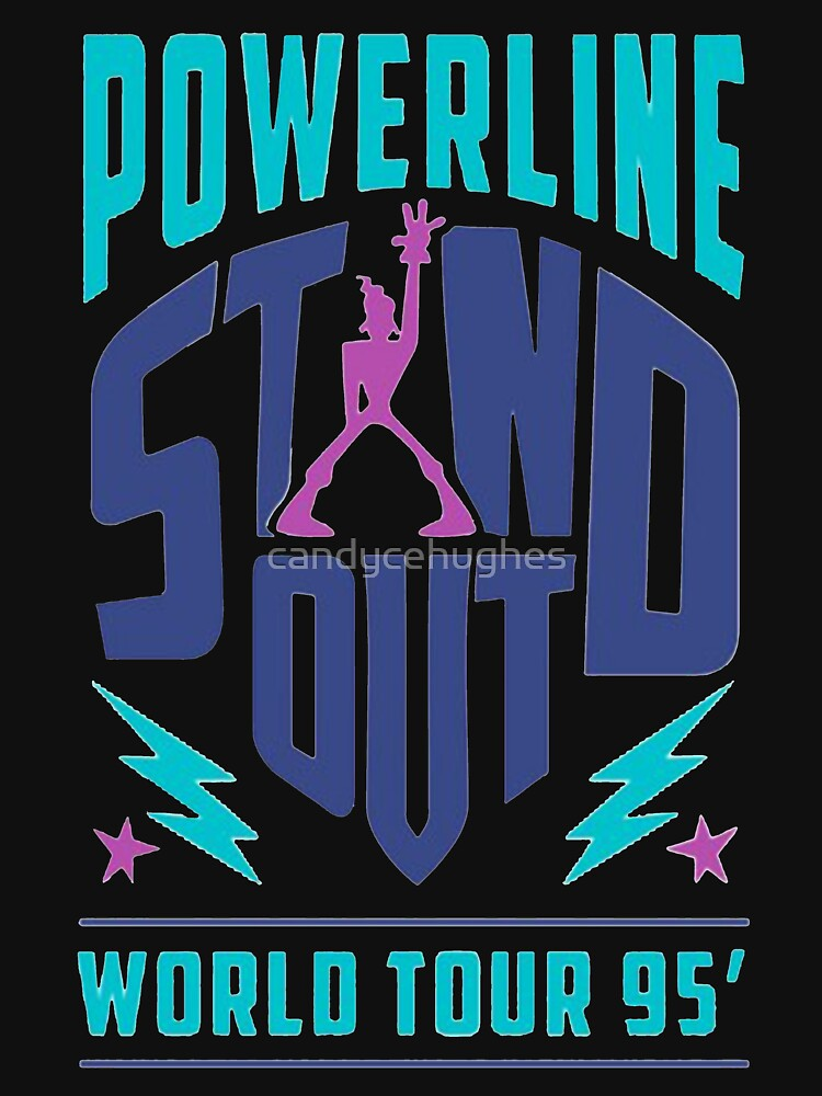 PowerLine Merch by candycehughes
