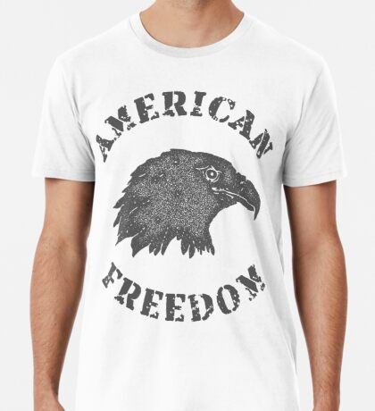 American Liberty Bald Eagle Premium T-Shirt