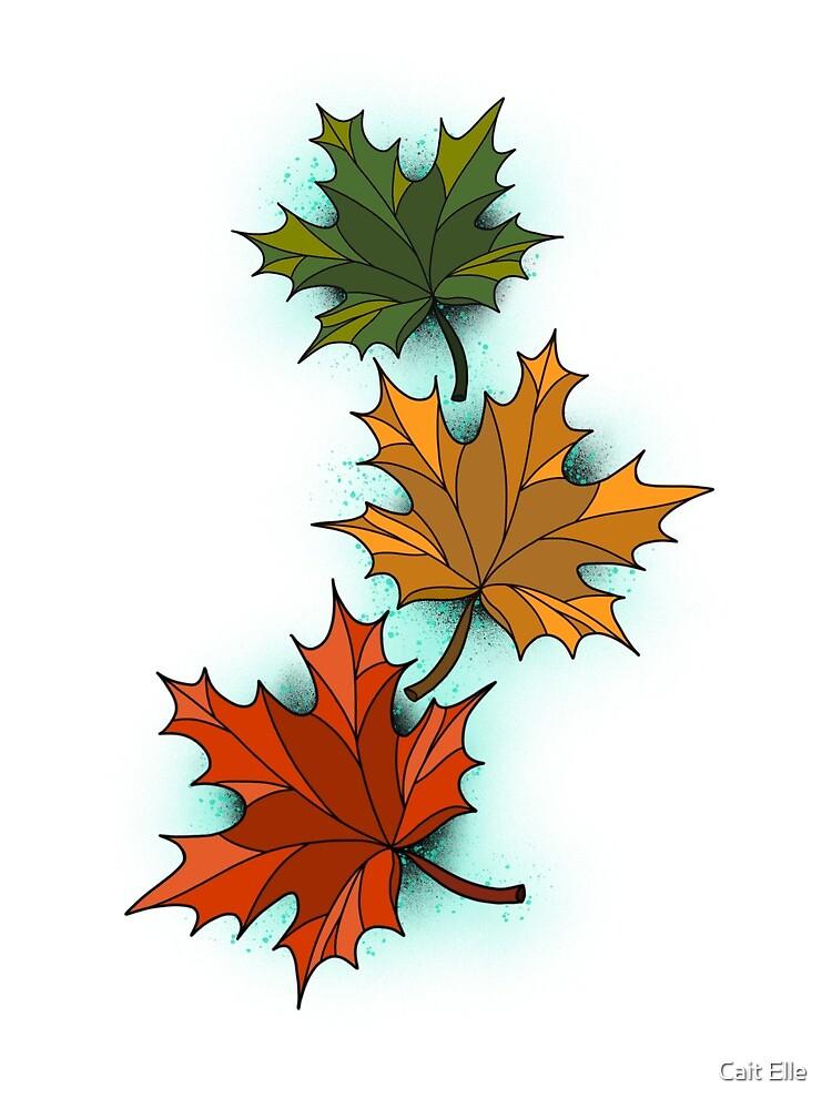 Falling Leaves by Cait Elle