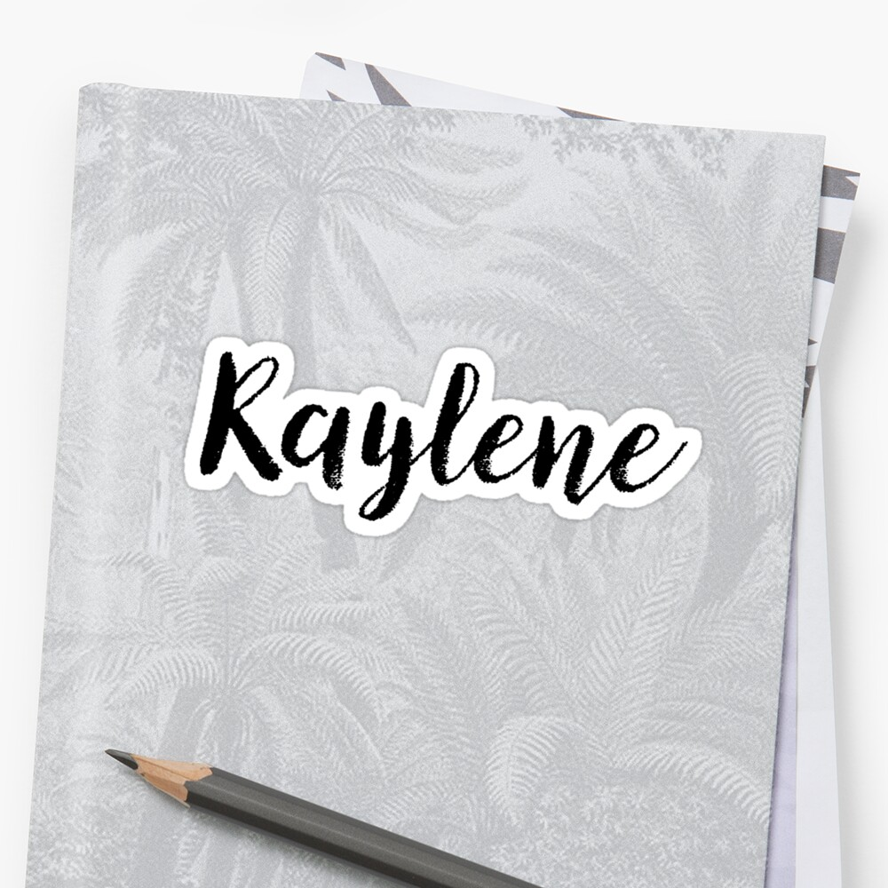 Raylene - Cute Girl Names For Wife Daughter Sticker Front