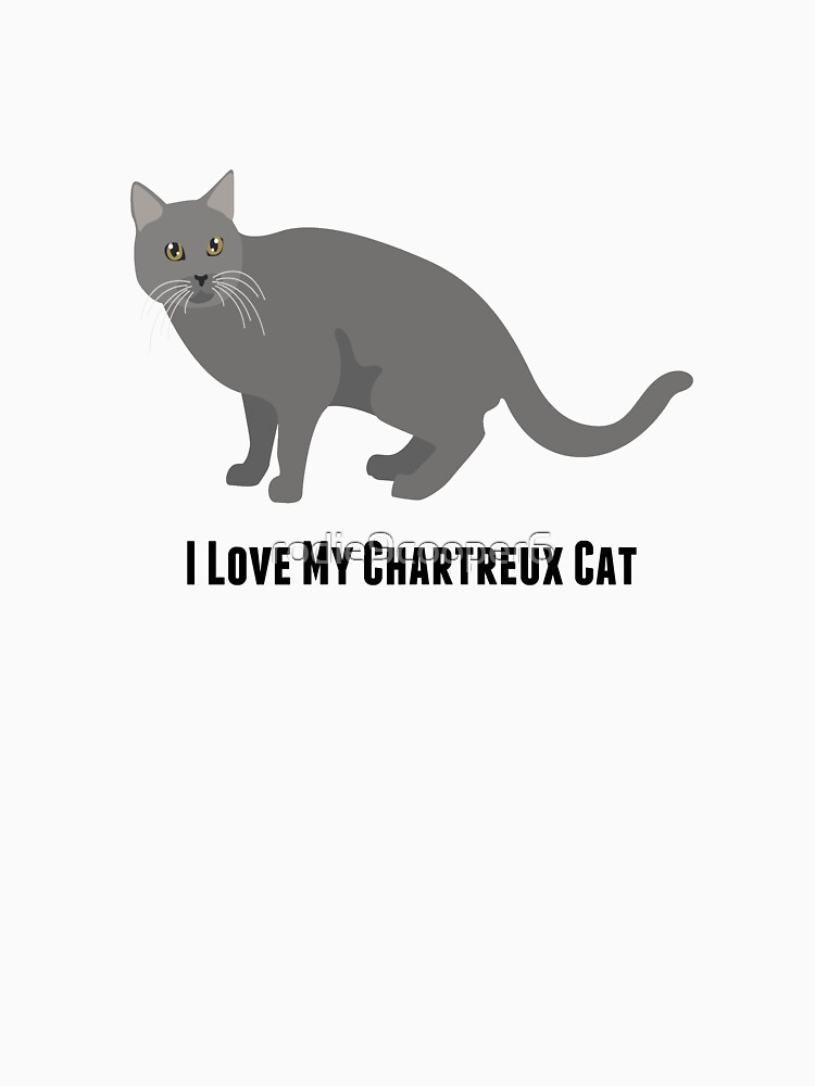 I Love My Chartreux Cat by rodie9cooper6