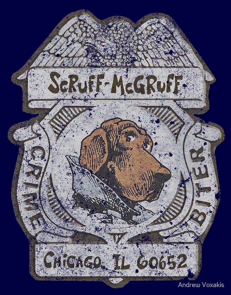Scruff McGruff - Chicago Illinois 60652 by Andrew Vox
