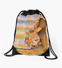 Peel Away the Day Drawstring Bag