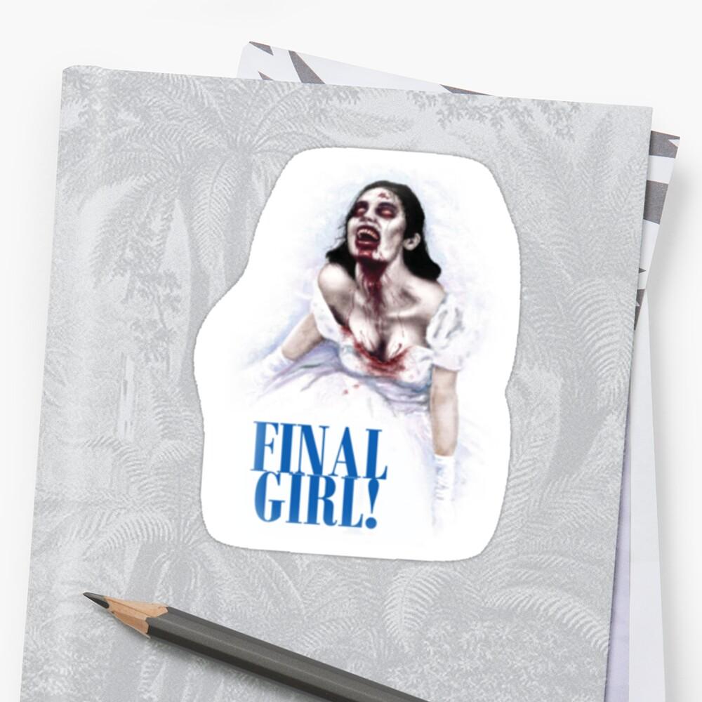 Final Girl Mamma Mia Zombie by cowieda