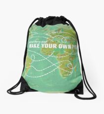Make Your Own Path Drawstring Bag