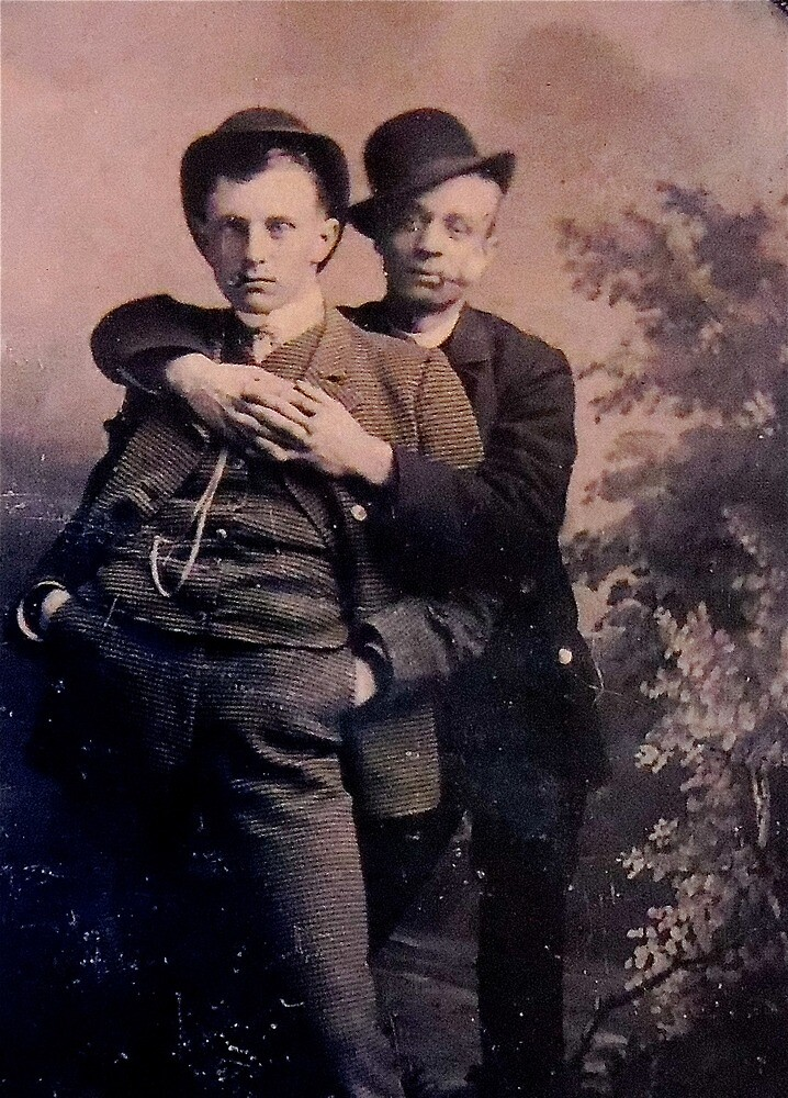 Male Couple 1885 by planete-livres