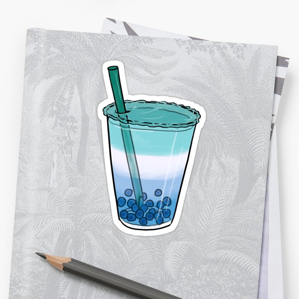 Gay Pride Boba Drink Sticker by JNNardacci