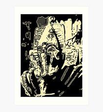 Sutekh The Destroyer Art Print