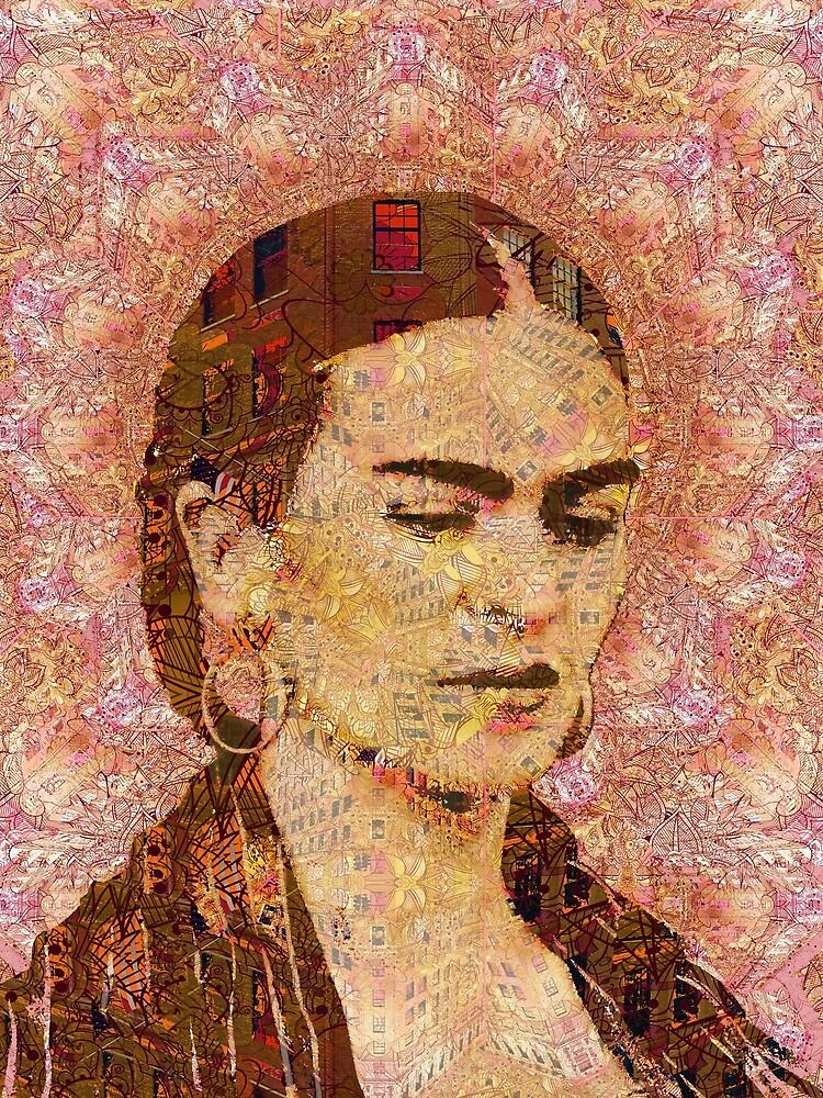 Frida Kahlo City Artist by RubinoCreative