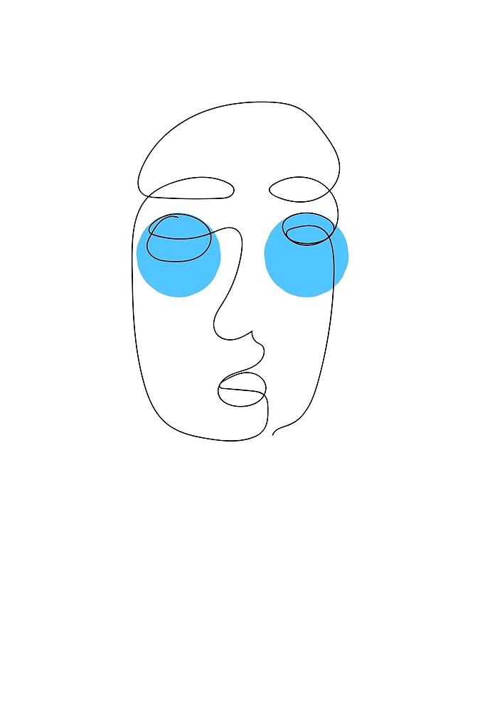 Blue Eyes by GaeaValley