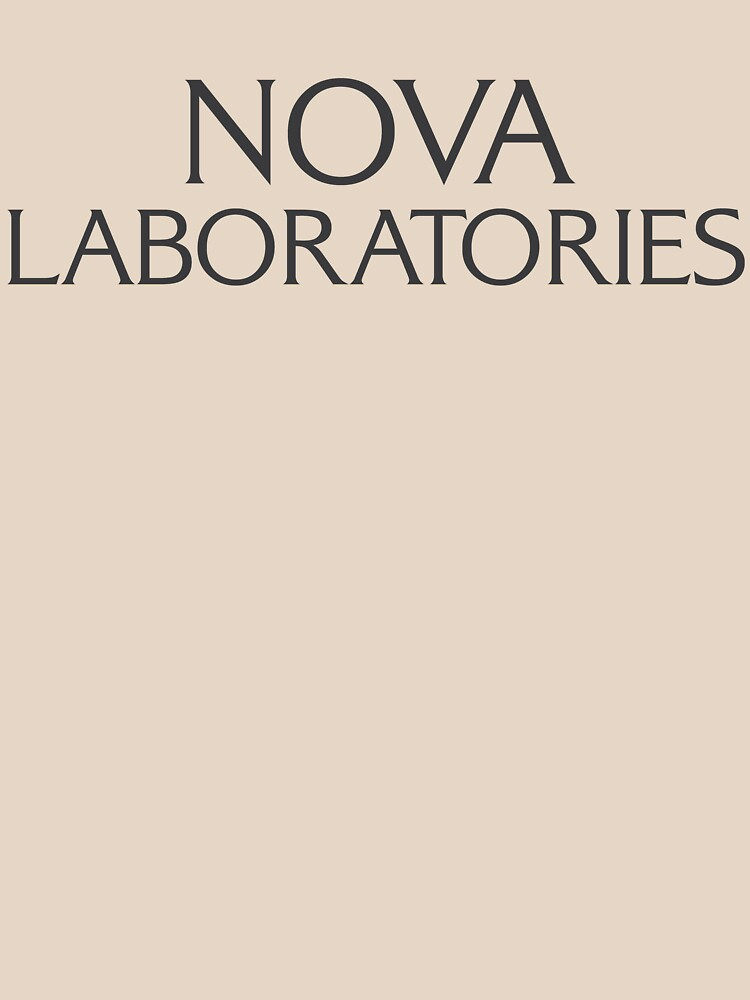 Nova Laboratories Typography by ChloeFortin15