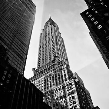 Chrysler Building by michaelgrohs