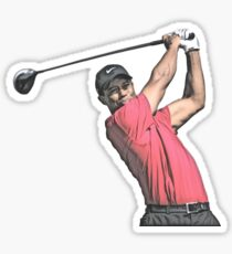 Tiger Woods Sticker Sticker