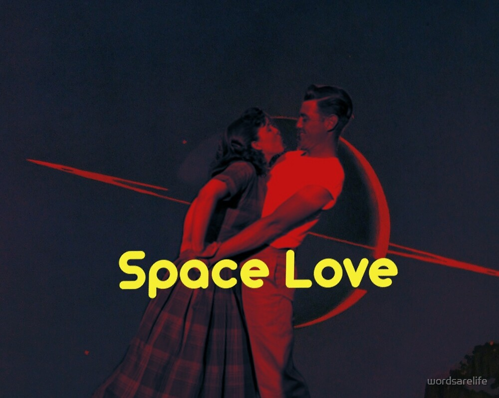 Space Love in the 50s by wordsarelife