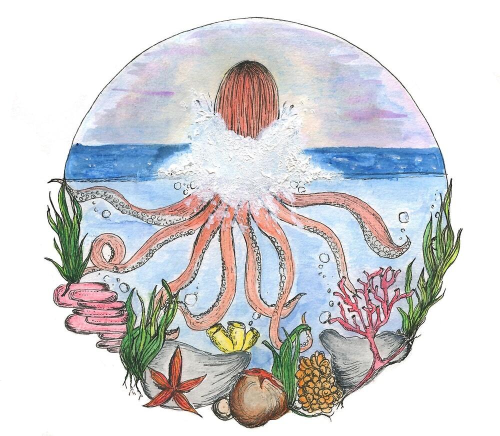 Octopus Wonderland by graceavery12