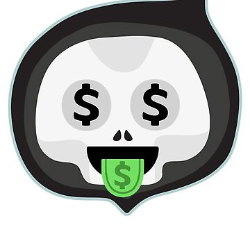 skull dollar by 8fiveone4