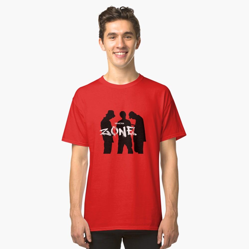 KPOP STRAY KIDS SKZ 3RACHA ZONE SONG Classic T-Shirt Front
