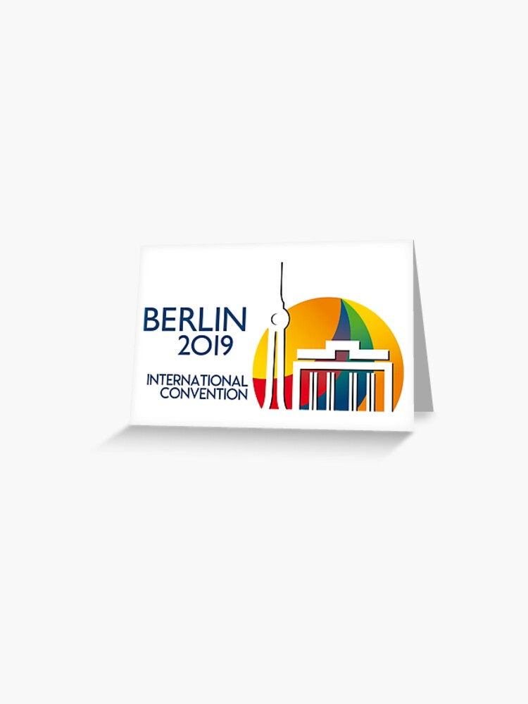 Berlin, Germany - 2019 International Convention | Greeting Card