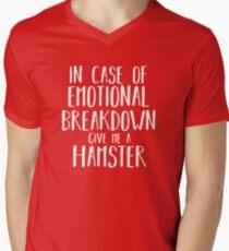 Funny Hamster Lover Shirt Gift for Men Women Kids Men's V-Neck T-Shirt