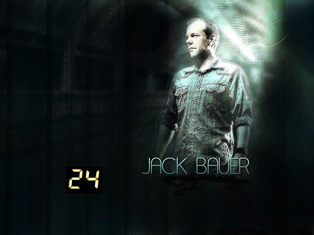 Jack Bauer 24 hours 2 by serbandeira