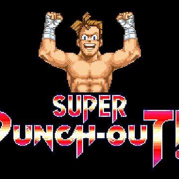 Super Punch-Out Title by MisterPixel
