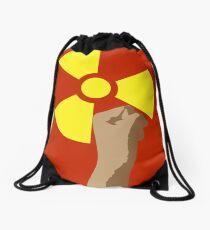 Power of the Atom Drawstring Bag