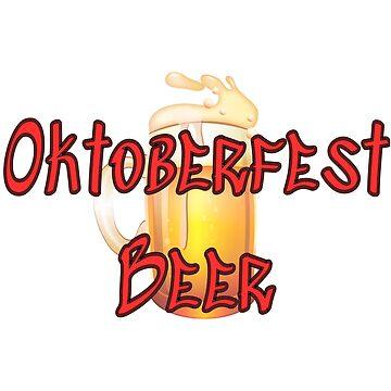 Oktoberfest Beer OktoBeerFest Beer Stein by CreativeStrike