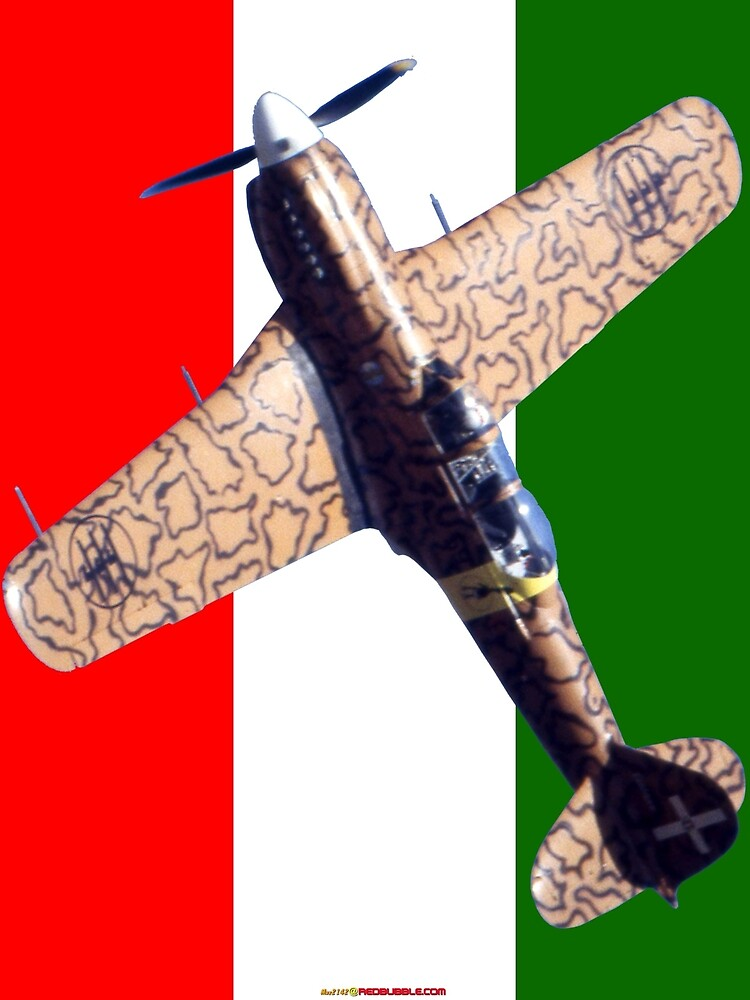 Flag Plus - Fiat G59B VH-LIX by muz2142