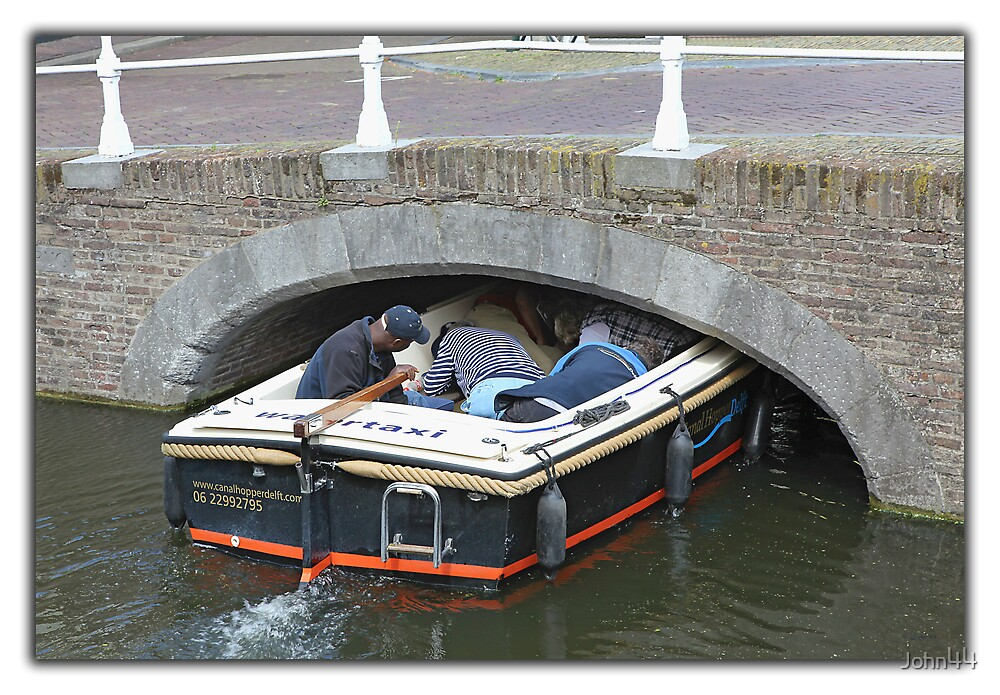 Water Taxi in Delft by John44