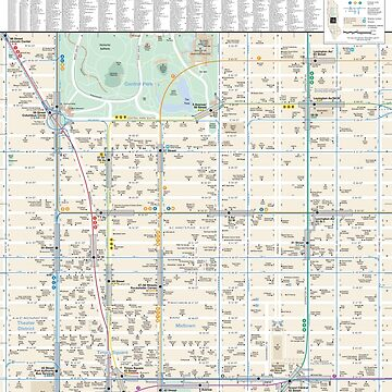 New York City - Midtown Map - HD by superfunky