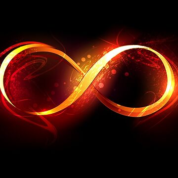 Fire Symbol of Infinity by Blackmoon9
