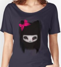 little scary doll Women's Relaxed Fit T-Shirt