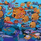 Reef 1 by David  Kennett