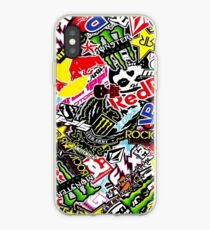 Sticker Logo Collage iPhone Case