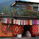 A Handloom Shop in Manali by Vivek Bakshi