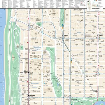 New York City - Morningside Heights Map - HD by superfunky