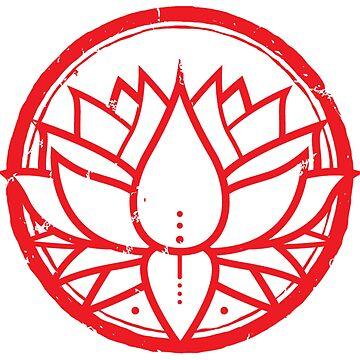 Wakanda Lotus Symbol by ABrokeUniKid