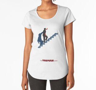 T-shirt premium échancré
