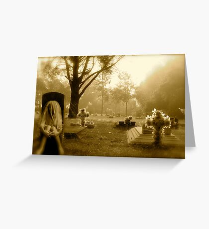 Love is Stronger Than Death Greeting Card