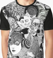 junji ito collage Graphic T-Shirt