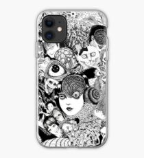 junji ito collage iPhone Case