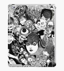 junji ito collage iPad Case/Skin