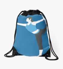 Wii Fit Trainer Vector Drawstring Bag